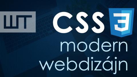 CSS3 Modern Webdizájn