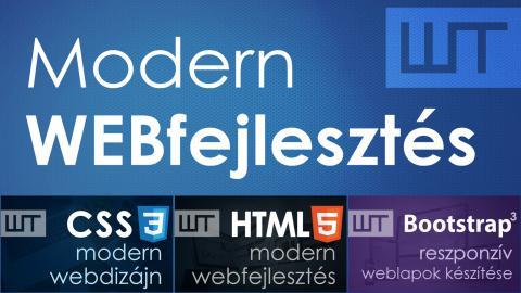 Modern webfejlesztés – AKCIÓS csomag